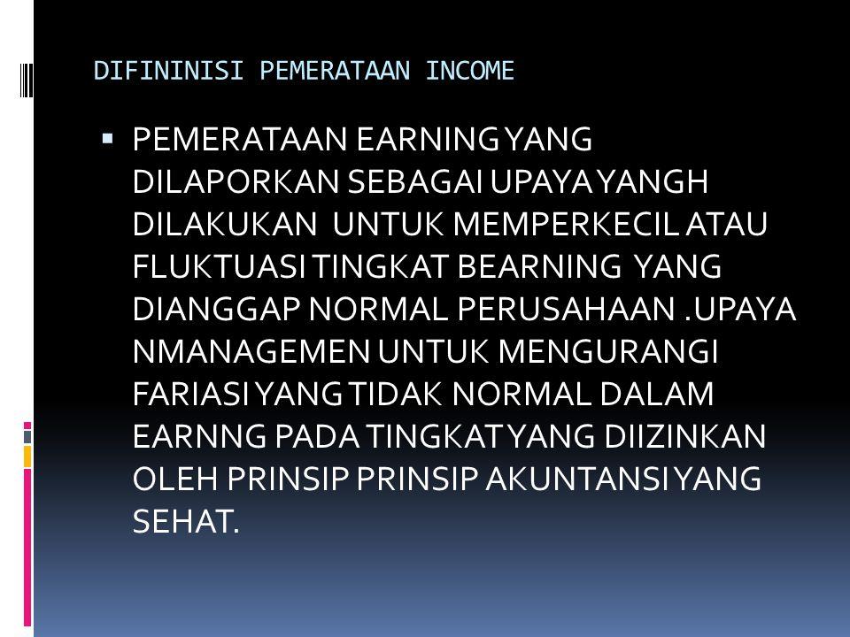 DIFININISI PEMERATAAN INCOME