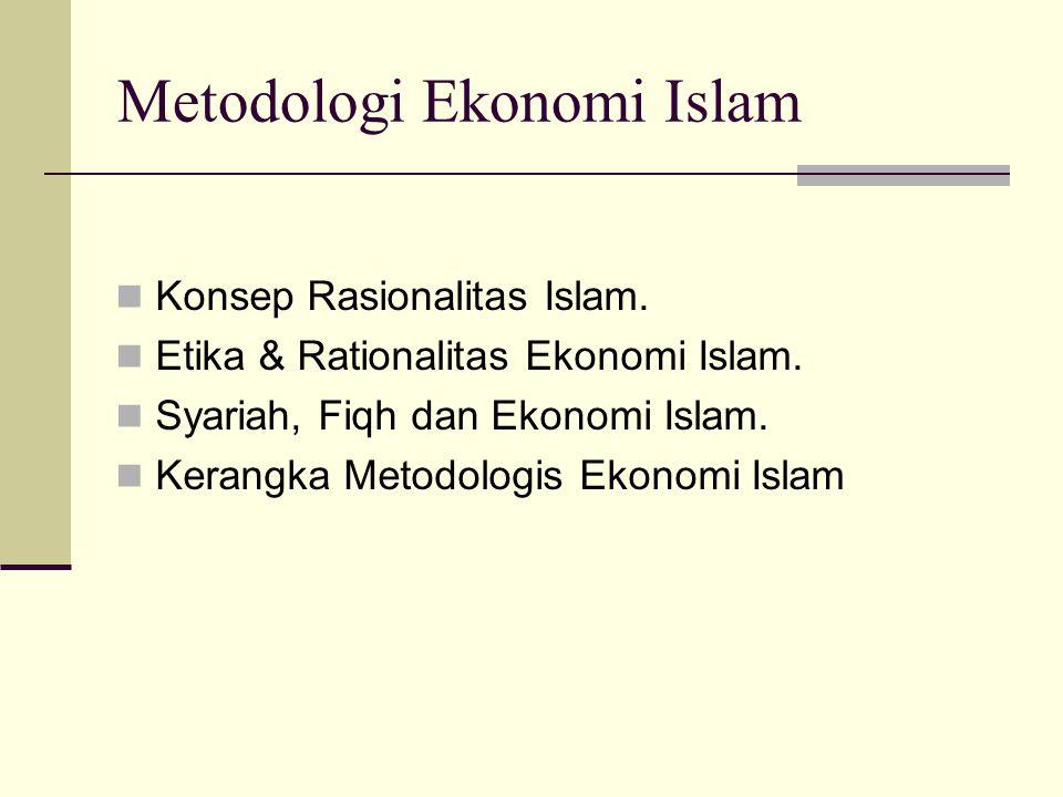 Metodologi Ekonomi Islam