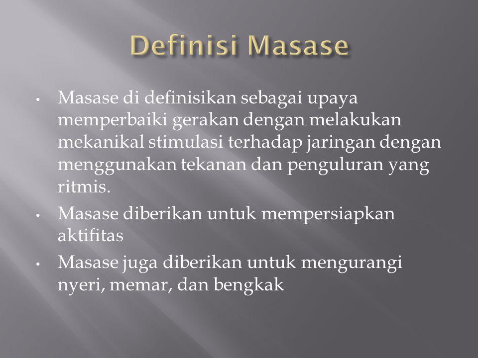 Definisi Masase