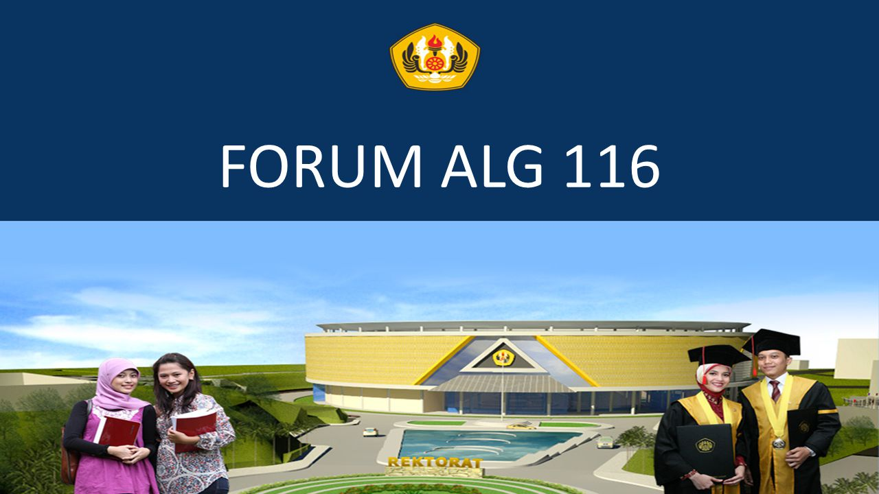 FORUM ALG 116