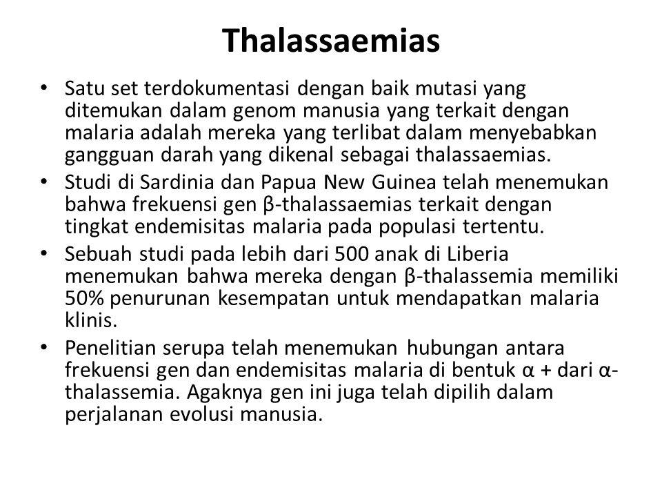 Thalassaemias
