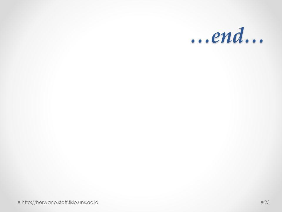 …end… http://herwanp.staff.fisip.uns.ac.id