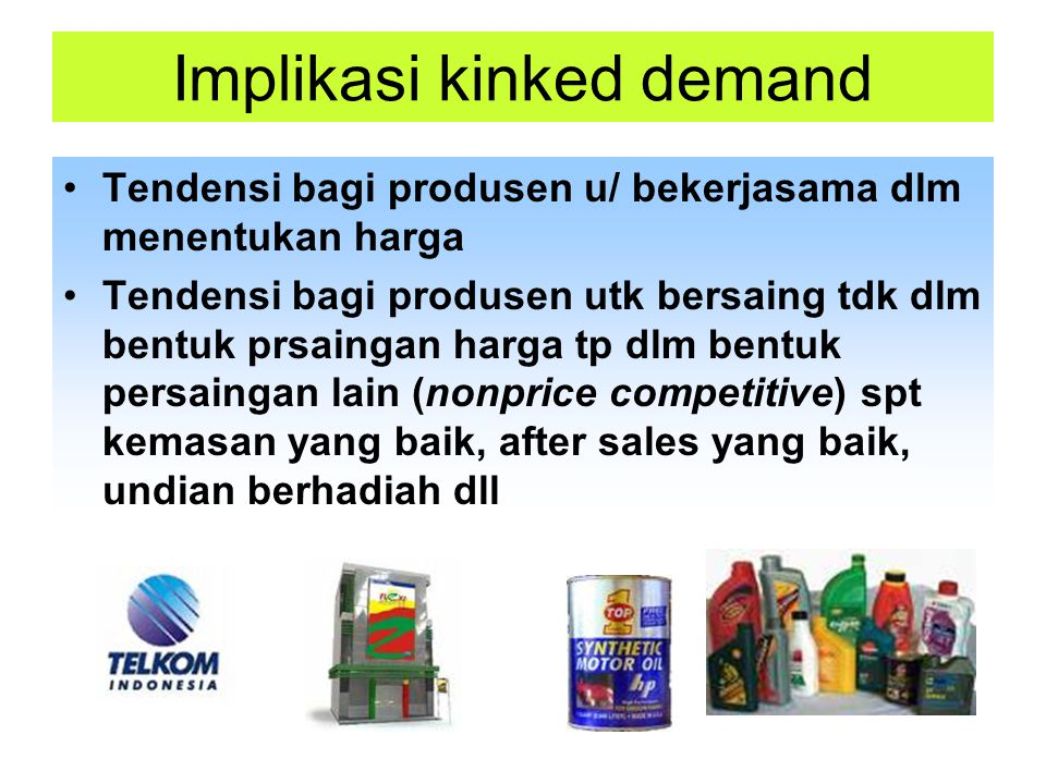 Implikasi kinked demand