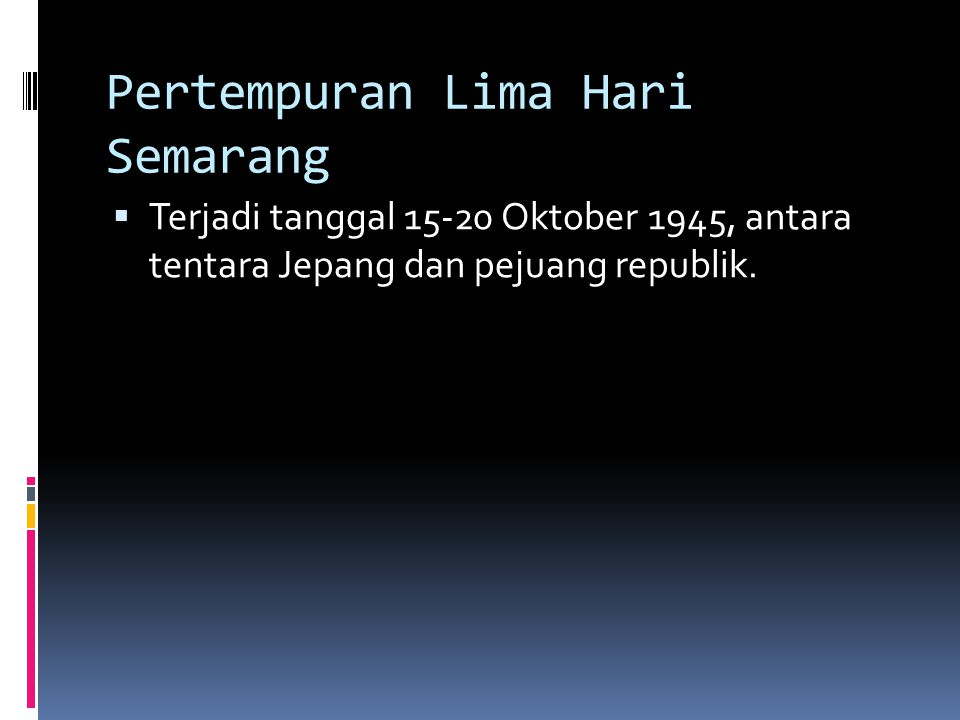 Pertempuran Lima Hari Semarang