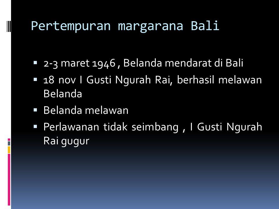 Pertempuran margarana Bali