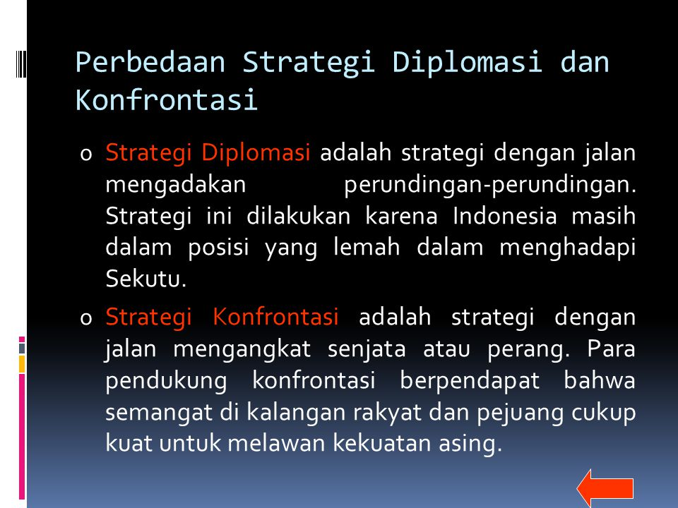 Perbedaan Strategi Diplomasi dan Konfrontasi