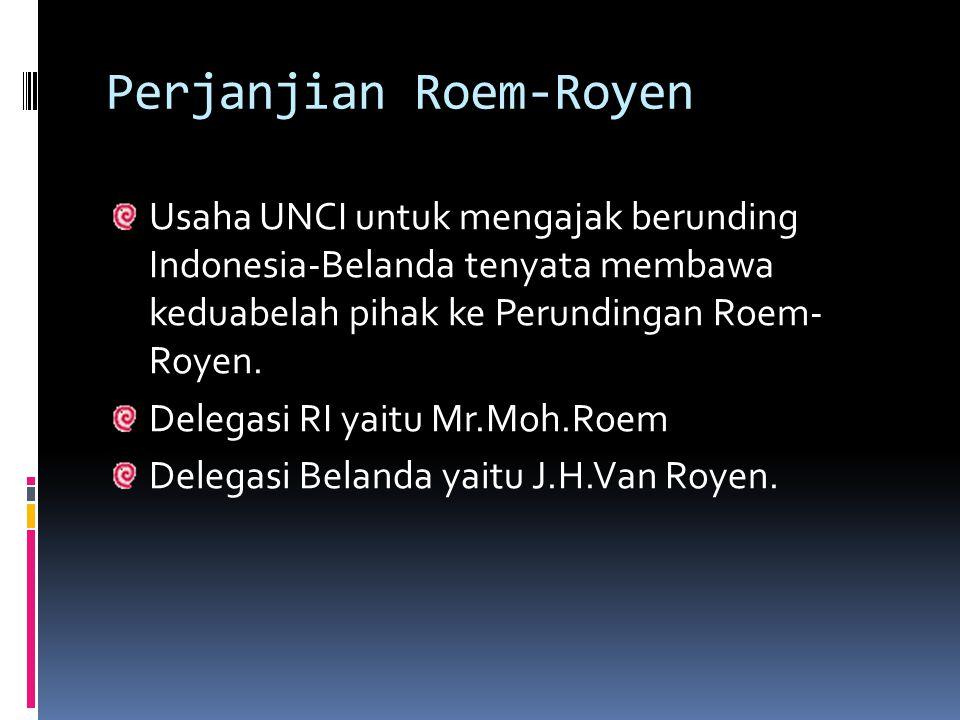 Perjanjian Roem-Royen