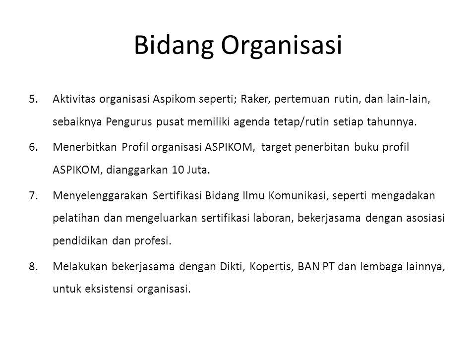 Bidang Organisasi