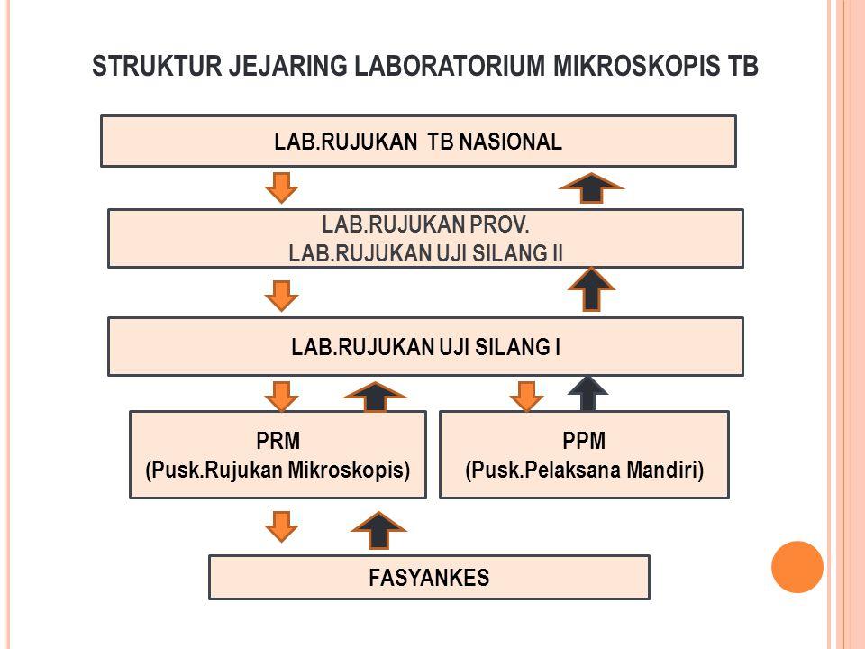 STRUKTUR JEJARING LABORATORIUM MIKROSKOPIS TB