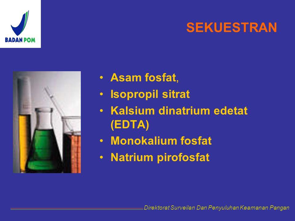 SEKUESTRAN Asam fosfat, Isopropil sitrat