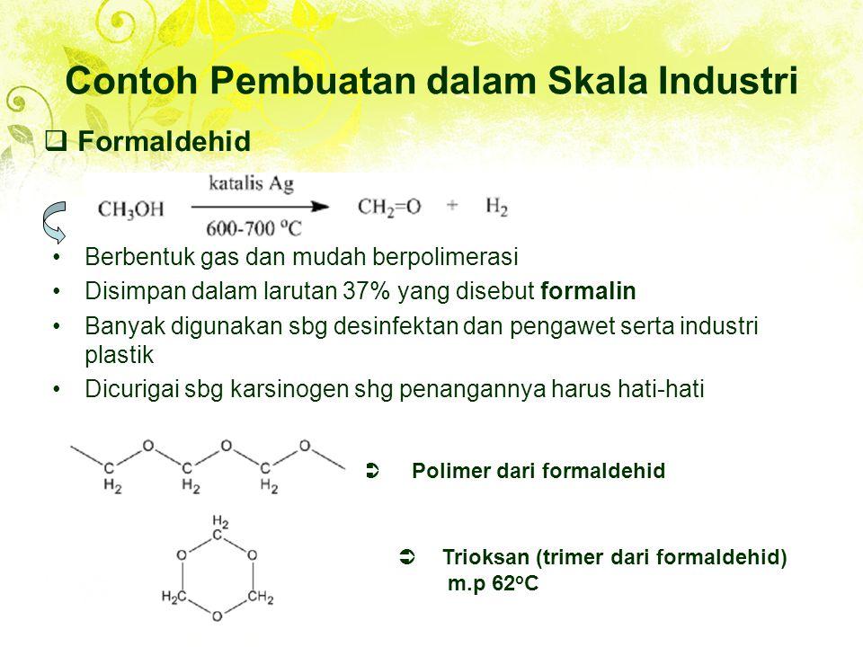 Contoh Pembuatan dalam Skala Industri