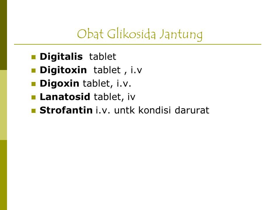 Obat Glikosida Jantung