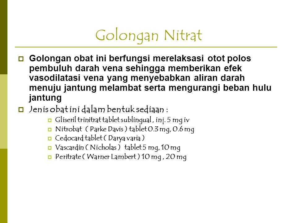 Golongan Nitrat