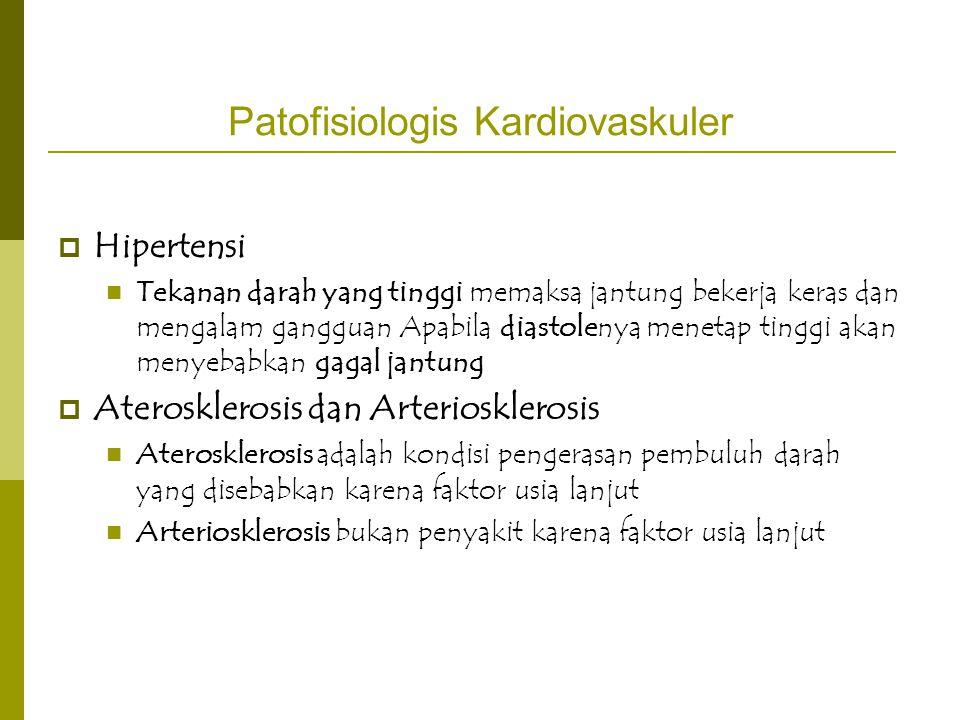 Patofisiologis Kardiovaskuler