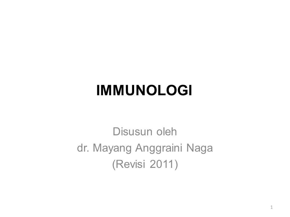 Disusun oleh dr. Mayang Anggraini Naga (Revisi 2011)