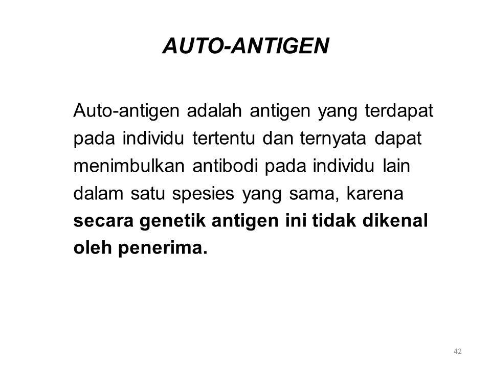 AUTO-ANTIGEN