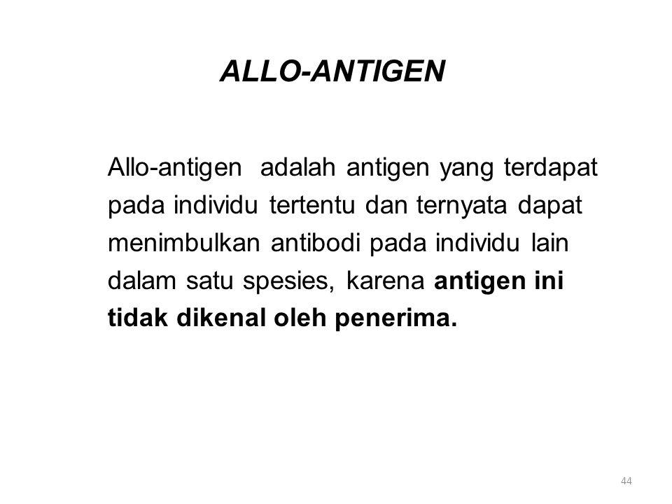 ALLO-ANTIGEN