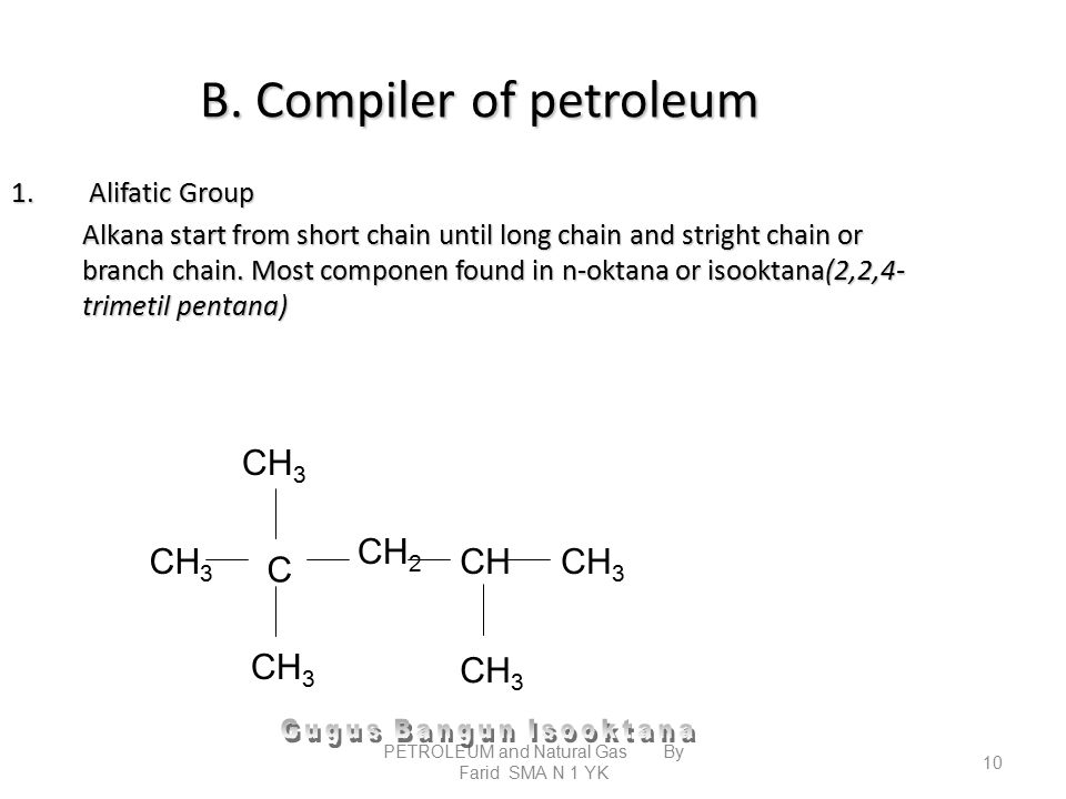 B. Compiler of petroleum