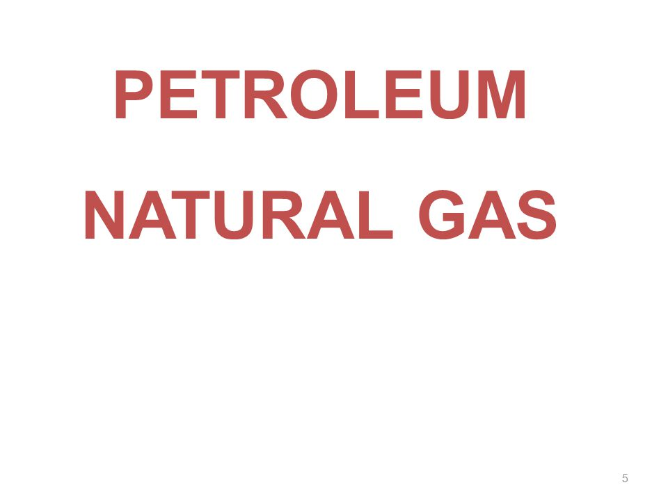 PETROLEUM NATURAL GAS