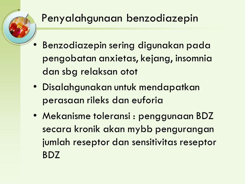 Penyalahgunaan benzodiazepin