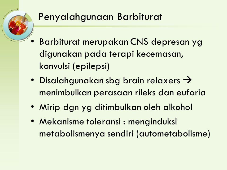 Penyalahgunaan Barbiturat