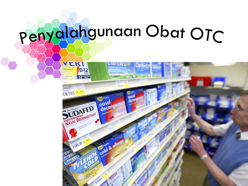 Penyalahgunaan Obat OTC