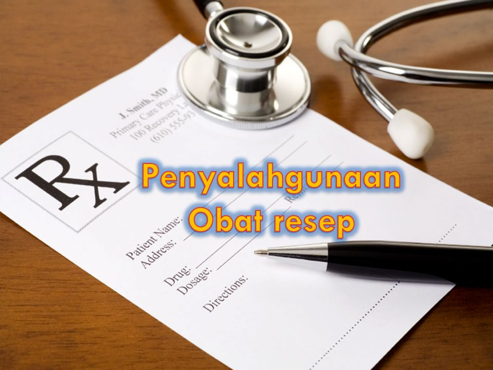 Penyalahgunaan Obat resep