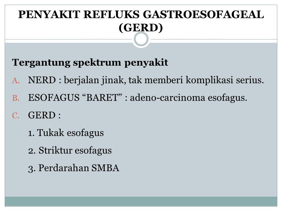 PENYAKIT REFLUKS GASTROESOFAGEAL (GERD)