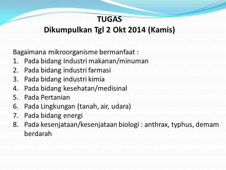 Dikumpulkan Tgl 2 Okt 2014 (Kamis)