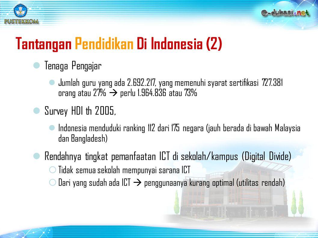 Tantangan Pendidikan Di Indonesia (2)