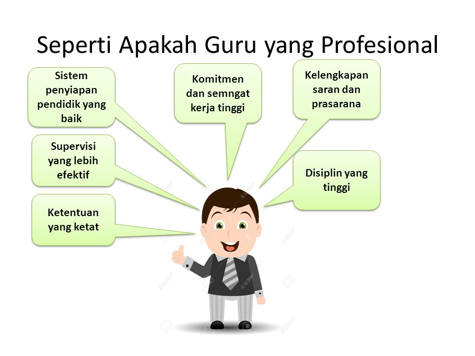 Seperti Apakah Guru yang Profesional