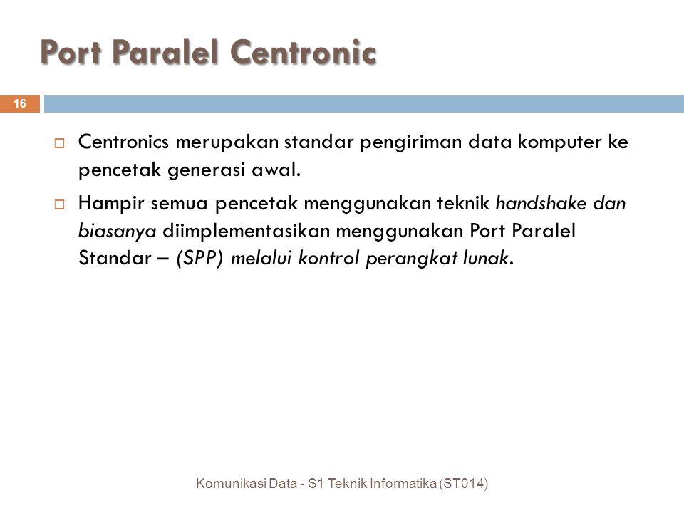 Port Paralel Centronic