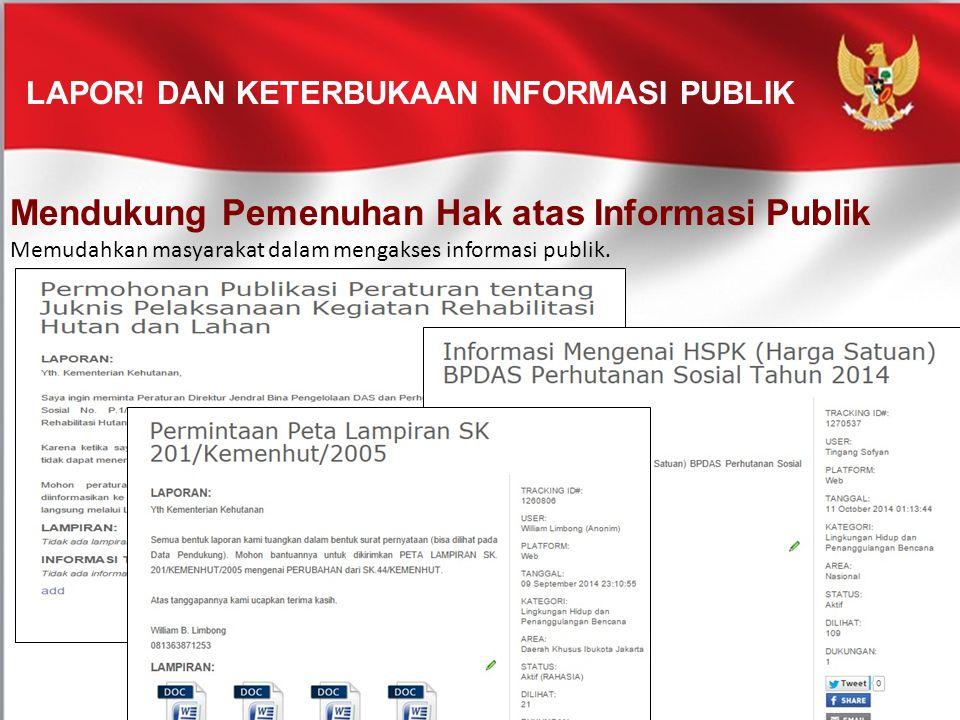 LAPOR! dan Keterbukaan Informasi Publik