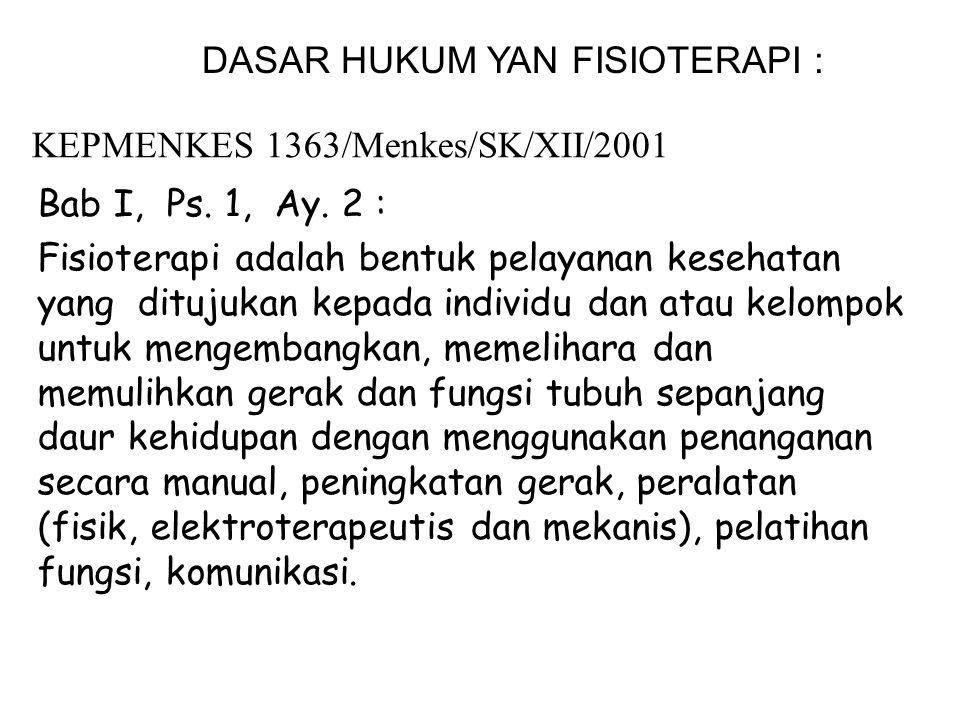 KEPMENKES 1363/Menkes/SK/XII/2001