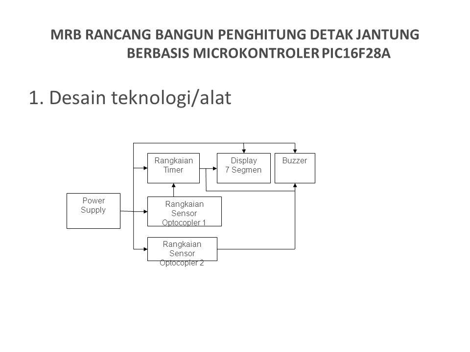 1. Desain teknologi/alat