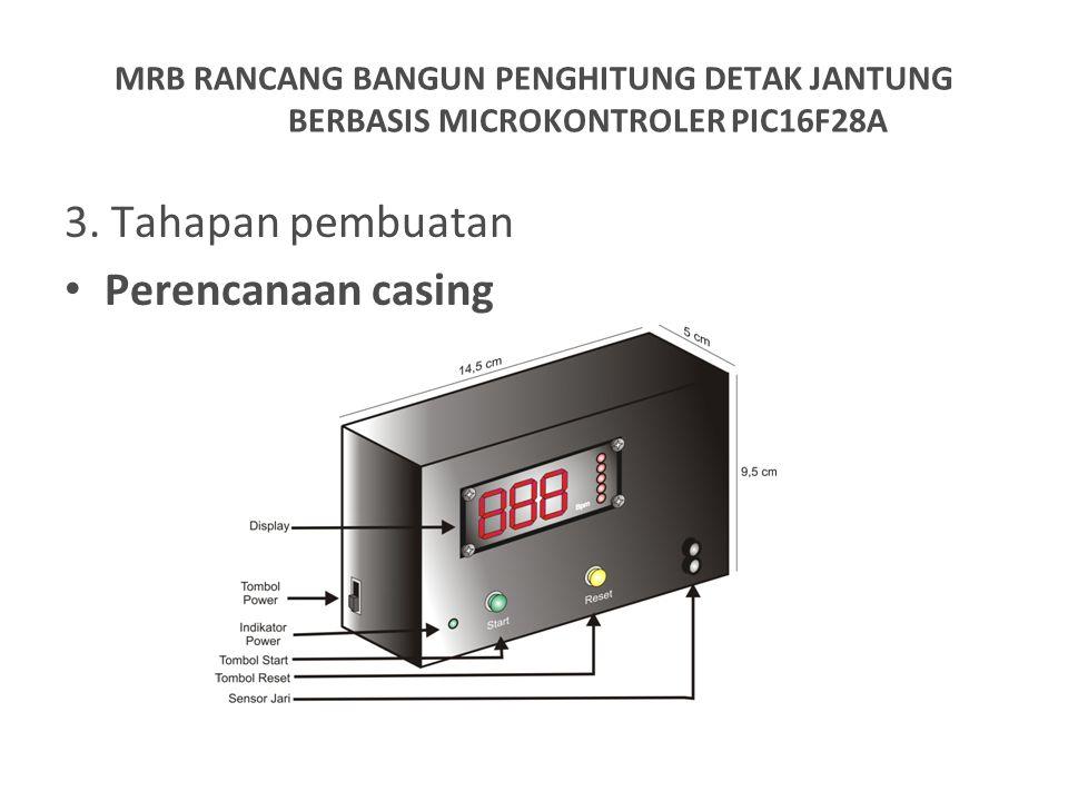 3. Tahapan pembuatan Perencanaan casing