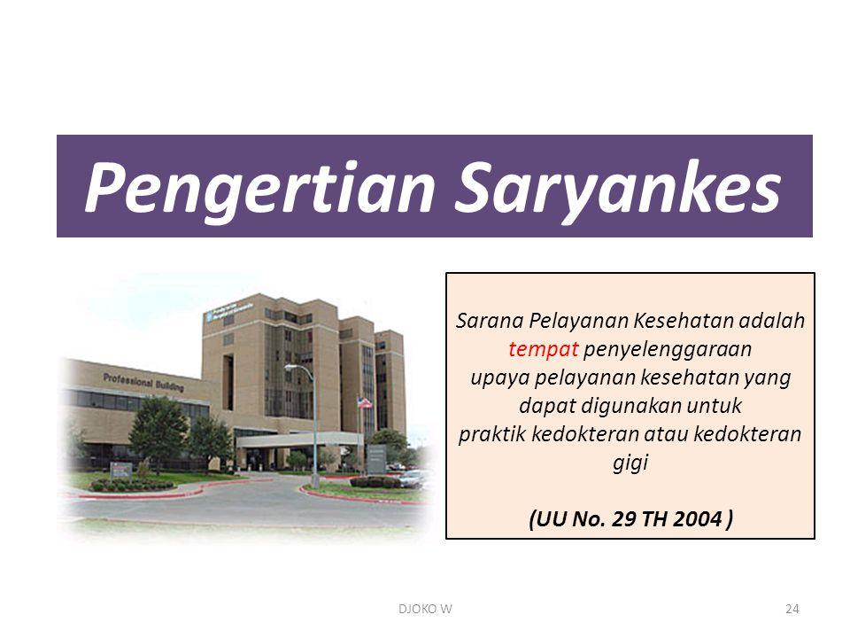 Pengertian Saryankes Sarana Pelayanan Kesehatan adalah tempat penyelenggaraan. upaya pelayanan kesehatan yang dapat digunakan untuk.