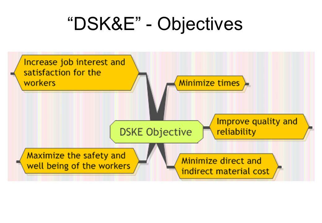 DSK&E - Objectives