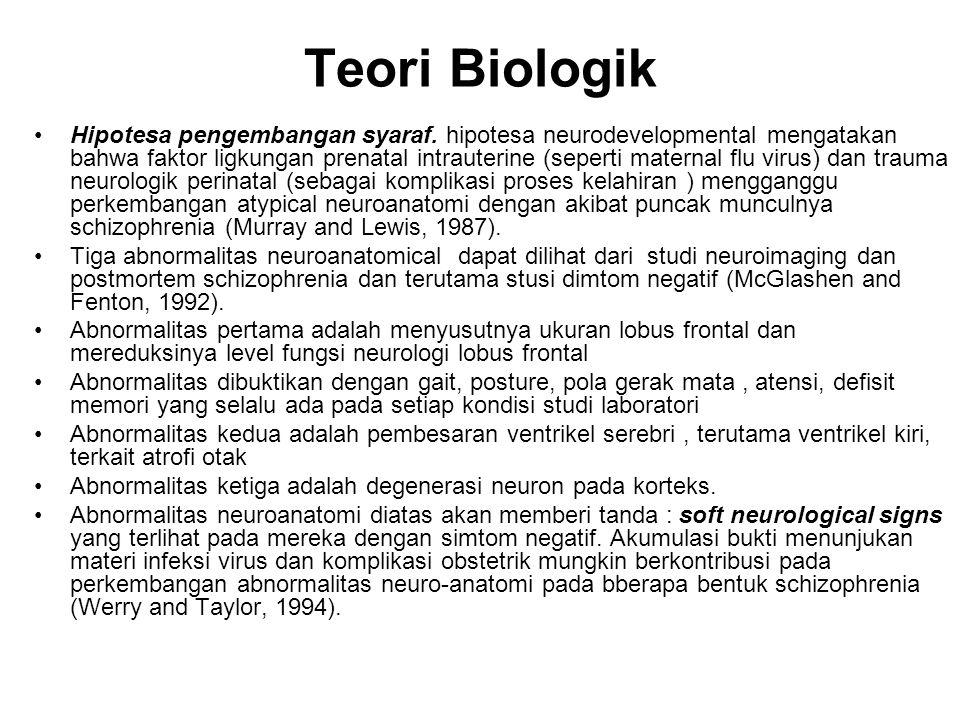 Teori Biologik