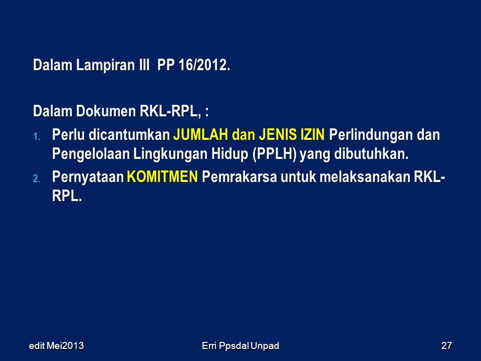Dalam Dokumen RKL-RPL, :