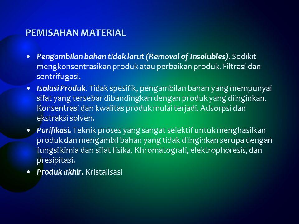 PEMISAHAN MATERIAL