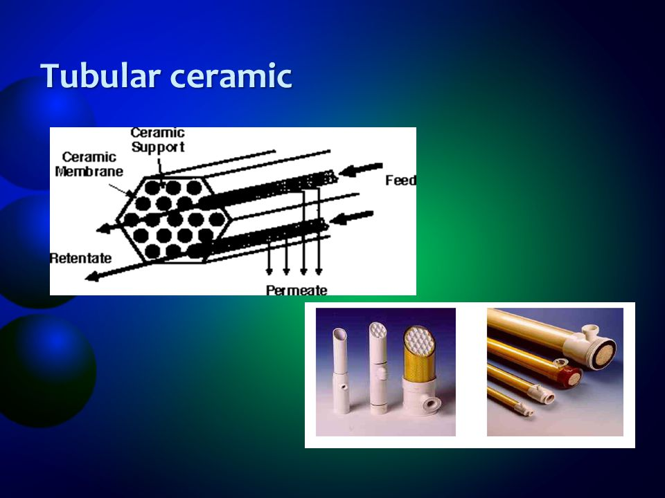 Tubular ceramic
