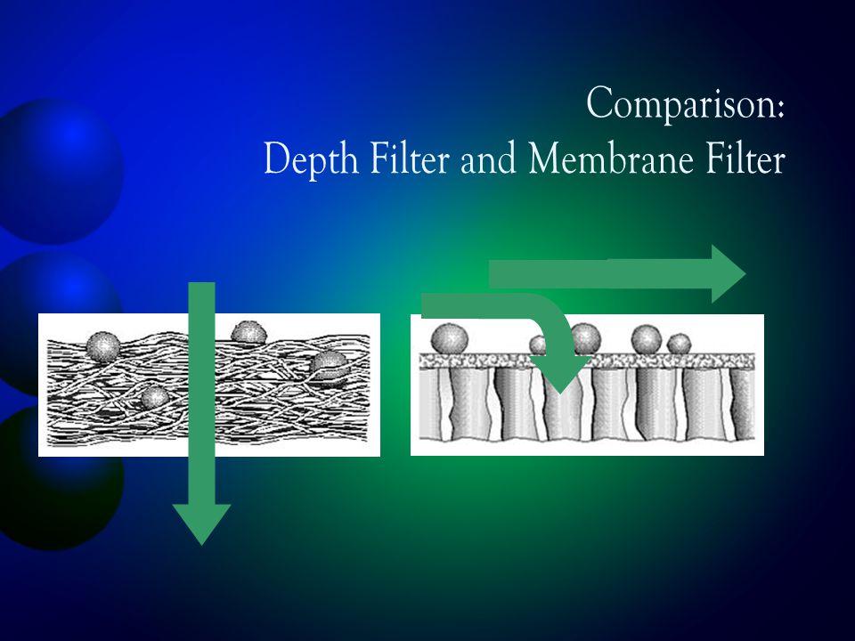 Comparison: Depth Filter and Membrane Filter