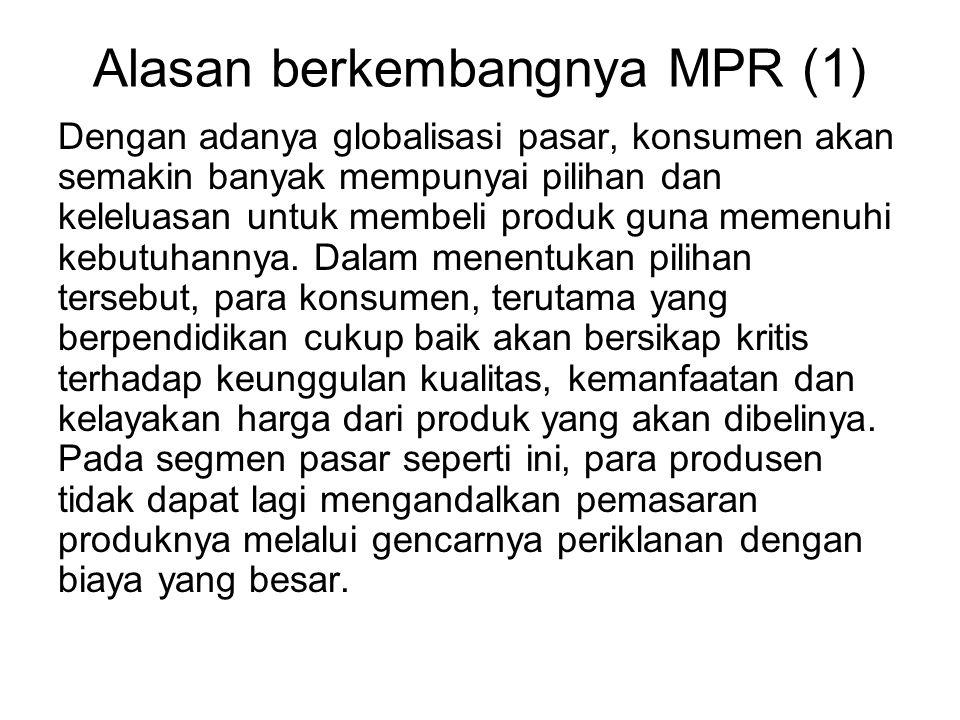 Alasan berkembangnya MPR (1)