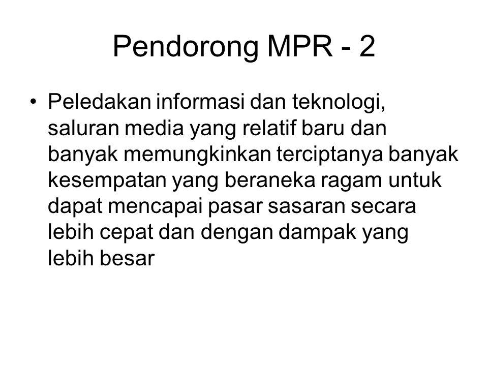 Pendorong MPR - 2