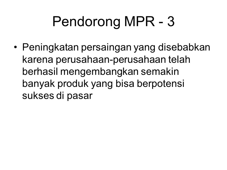 Pendorong MPR - 3