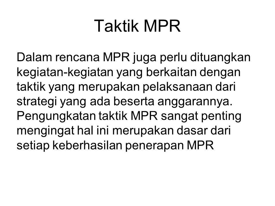 Taktik MPR
