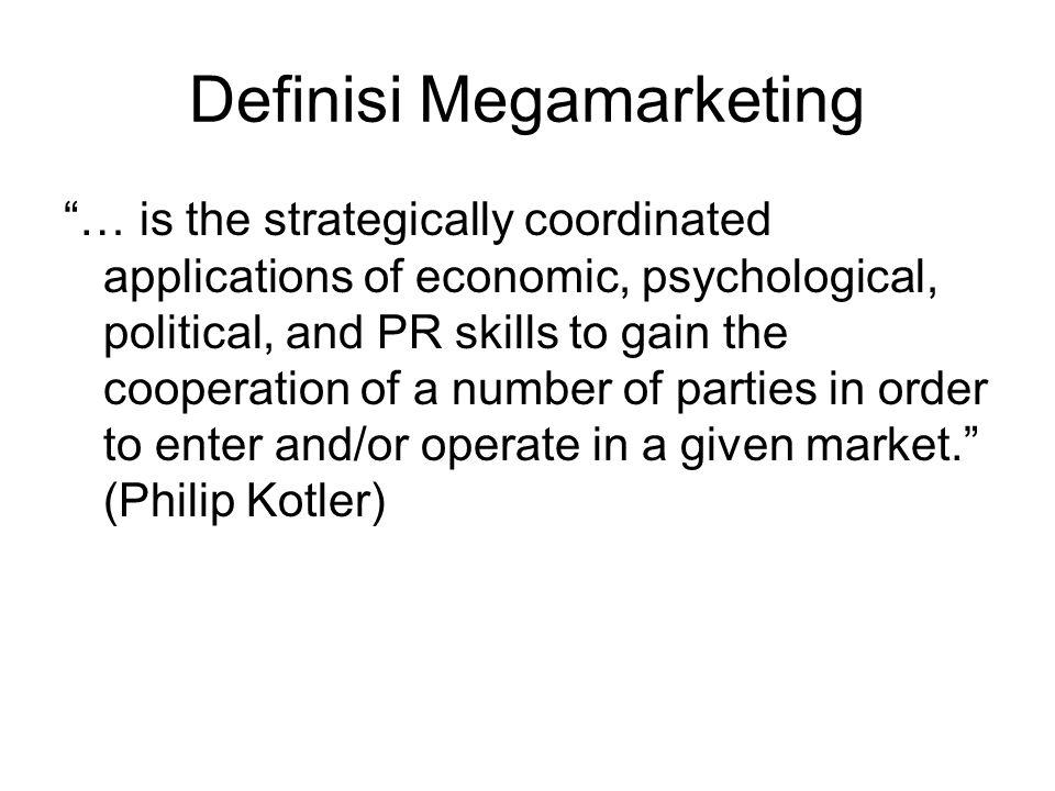 Definisi Megamarketing