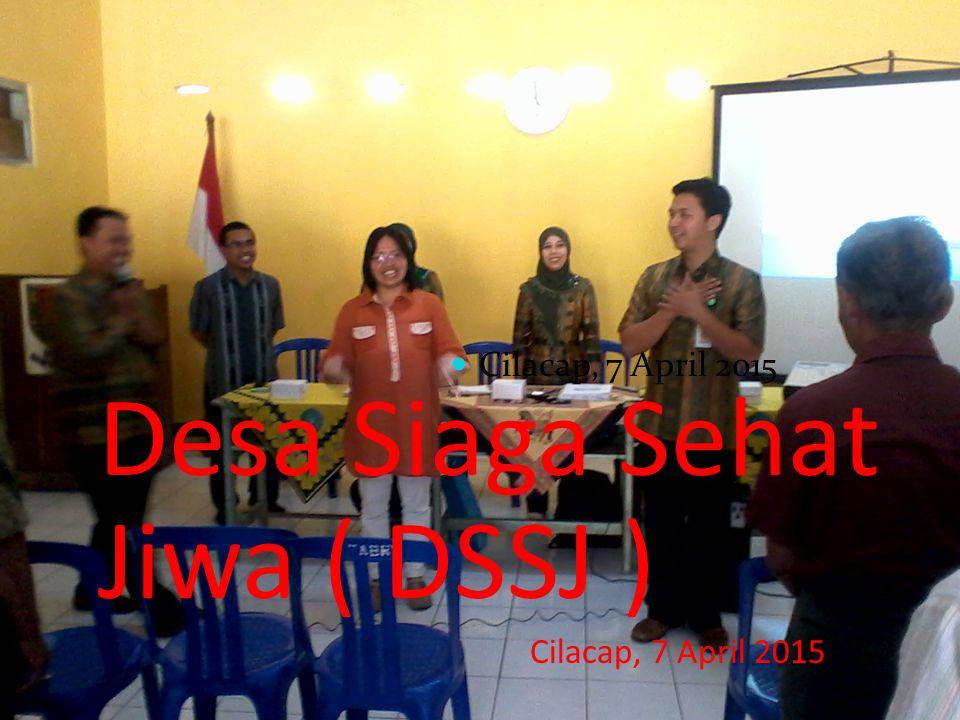 Desa Siaga Sehat Jiwa ( DSSJ )
