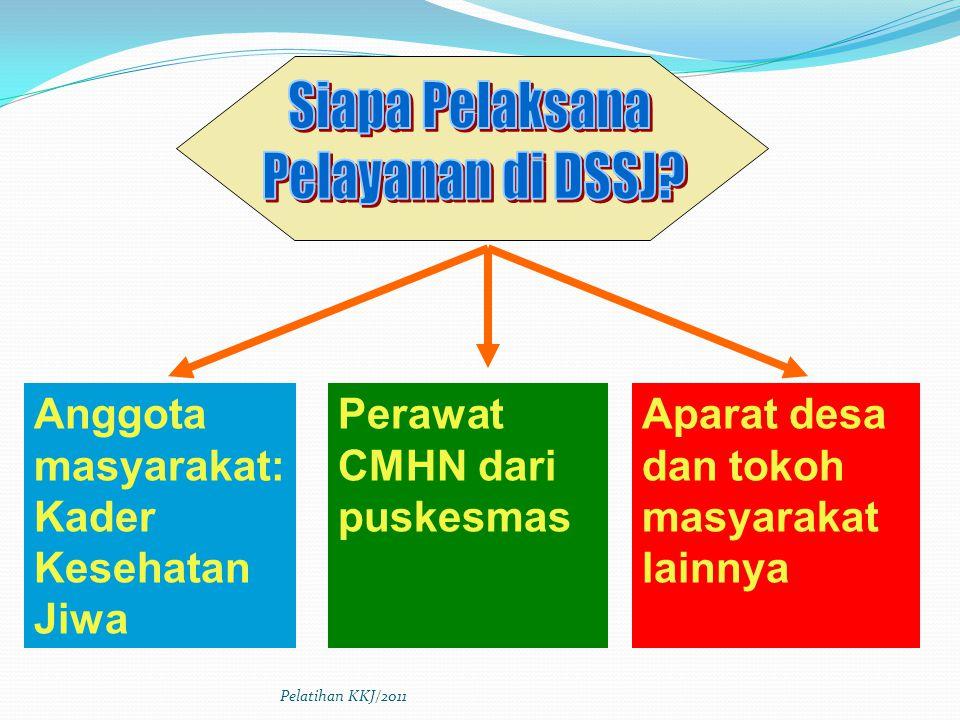 Siapa Pelaksana Pelayanan di DSSJ